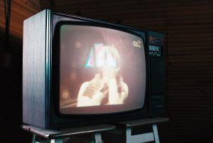 テレビドラマの映像