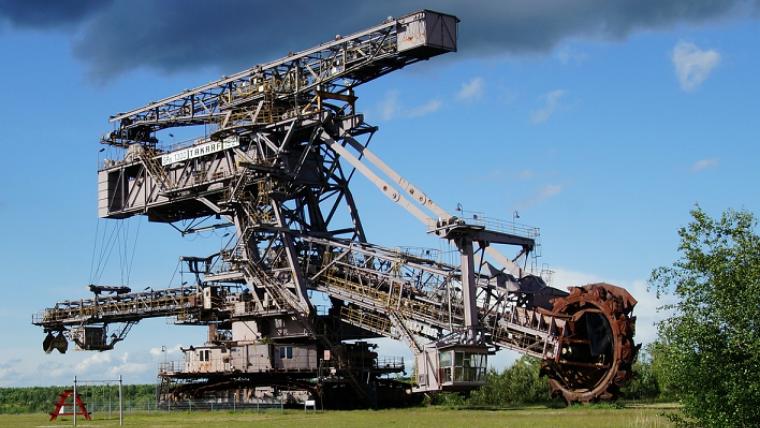 バケット ホイール エクス カ ベーター 世界最大の建設機械・バケットホイールエクスカベータ