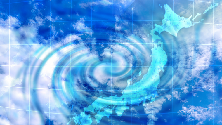 日本の台風